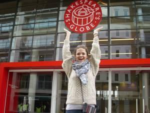 A picture of English grad Rebecca Van Horn