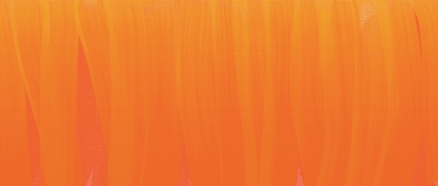 canvas of orange-yellow brushstrokes
