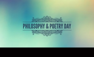 a logo for philosophy and poetry day
